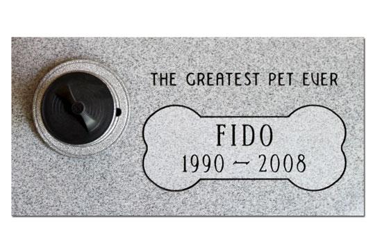 Pet Granite Memorial